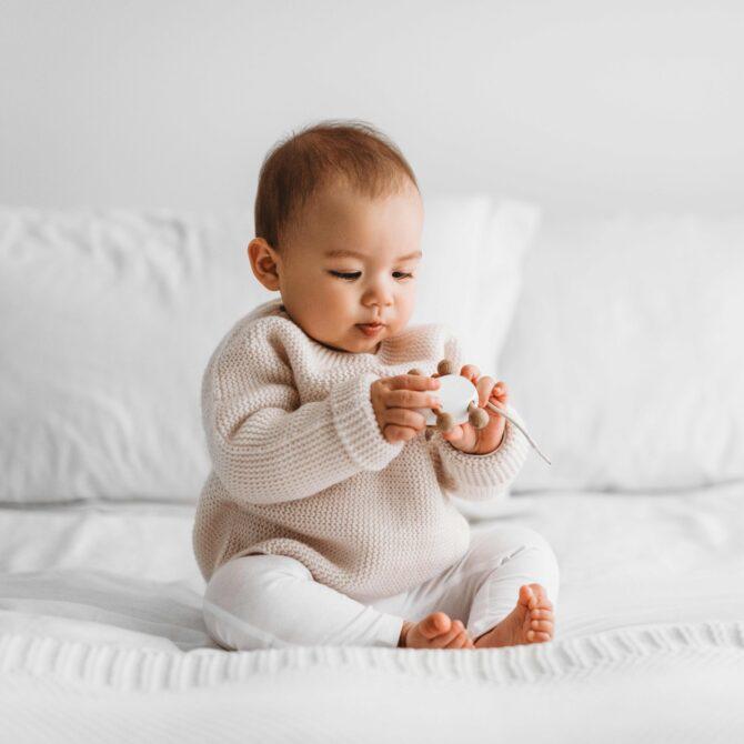 Eczema Baby Foldaway Leggings
